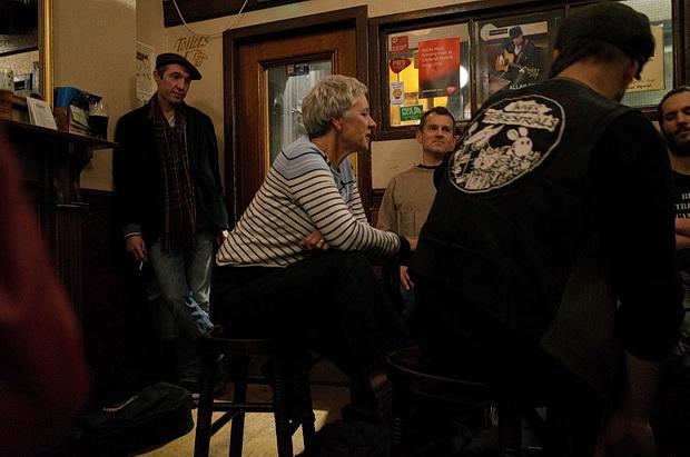 A cracking Monday night in Edinburgh: Black Bull, Oz Bar, Royal Oak and the Jazz Bar, Edinburgh, Scotland