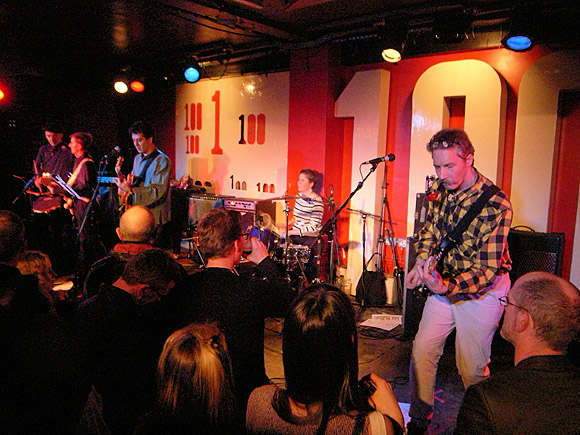 Monochrome Set at the 100 Club, London