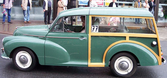 Brixton pic of the day: a Morris Minor by Electric Avenue