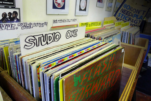 Music Temple records, Brixton Village for your reggae vinyl needs