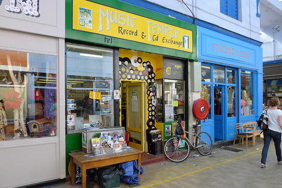 Music Temple records, Brixton Village for your reggae vinyl needs