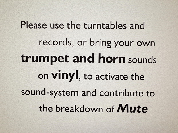 Sound as a weapon: ad hoc DJs make the noise at Mute at the National Museum of Wales, September 2015