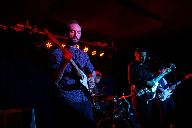 In photos: A trip to Nambucca, north London with the Bridport Dagger onstage, November 2017