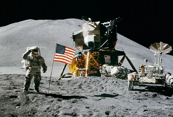 Forty years ago: man drives a car on the Moon's surface
