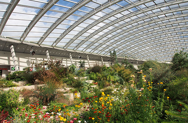 National Botanic Garden of Wales, Towy Valley, Carmarthenshire