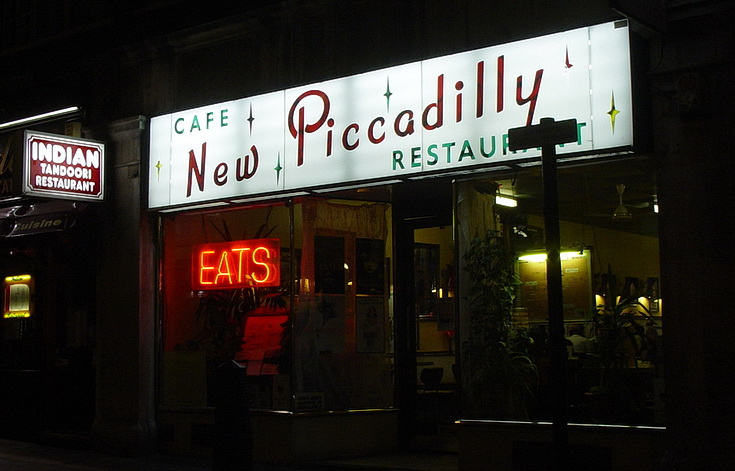 Remembering the New Piccadilly Cafe in central London