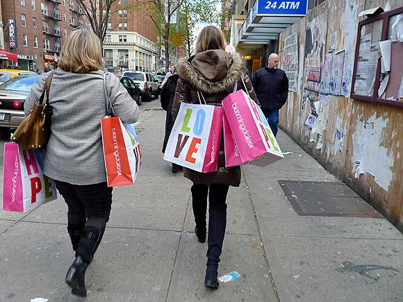 New York street scenes - December 2010
