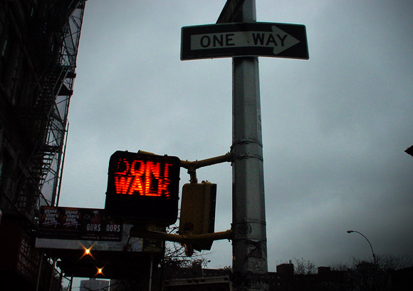 New York signs - photos from NYC streets