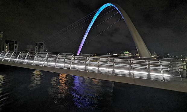 Newcastle photos: Millennium and other bridges, rain and street scenes