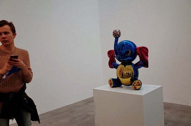 Jeff Koons Now at the Newport Street Gallery, London SE11