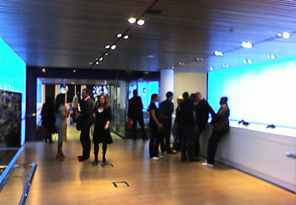 Nokia launch party, Regent Street, London W1