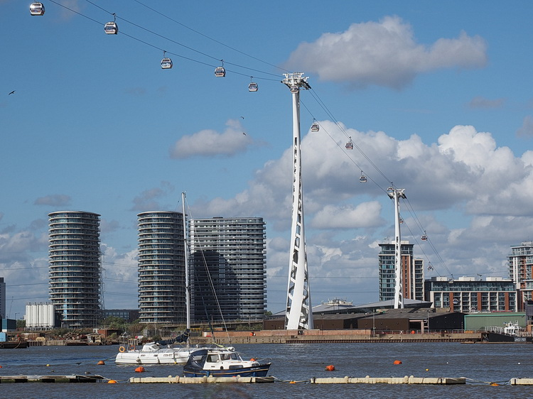 In photos: River walk from North Greenwich to the Thames Barrier via the O2/Millennium Dome