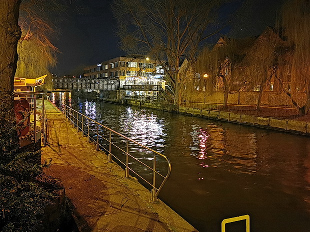 Norwich at night: street photos, bars, chip shops and architecture