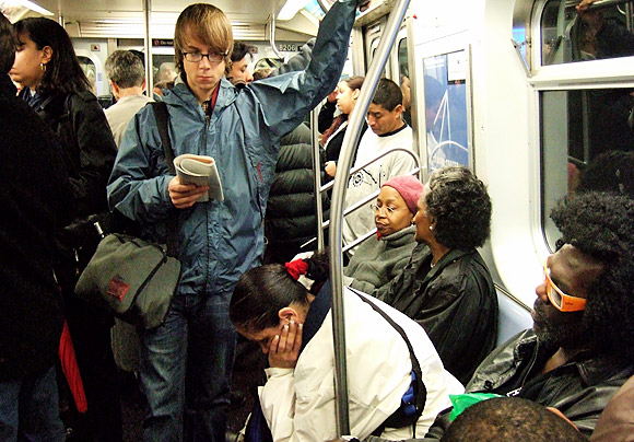 Pic of the day: NYC subway scene