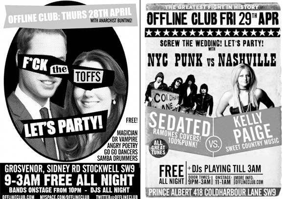 Screw the wedding - let's PARTY! Free Brixton clubs tonight/Fri.