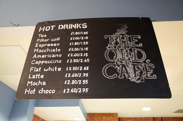 The Old Cafe opens in the former premises of Ray's Jazz Cafe in Foyles, Charing  Cross Road, London