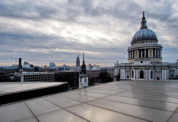 Get a great free view of London from One New Change, St Pauls