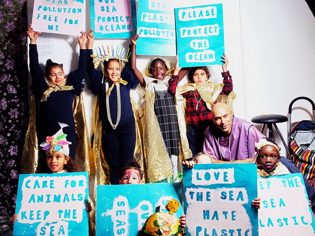 In photos Gillett Cubed - Open House and sustainable catwalk, Dalston, 26th Oct 2019