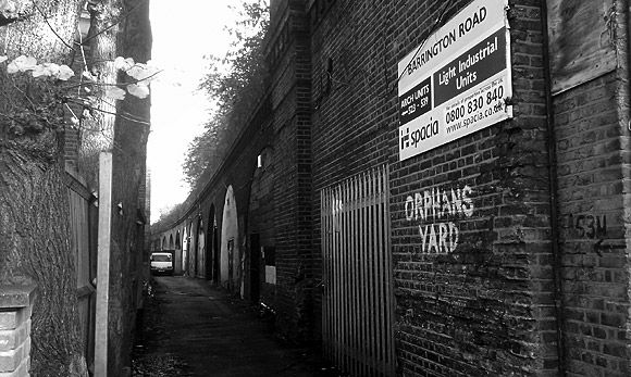 Unseen Brixton: Orphan's Yard, SW9
