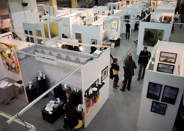 The Other Art Fair, 22-25 November 2012 at Ambrika P3, Marylebone Road, London NW1