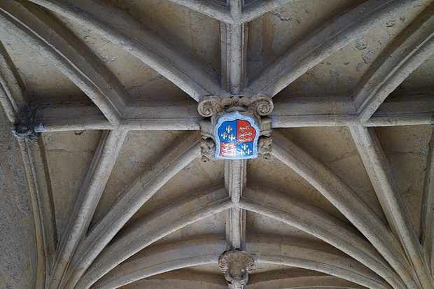Photos of Oxford: architecture, frozen canal, church tower views and The Monochrome Set, March 2018