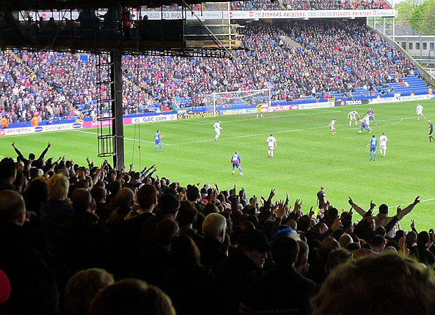 Crystal Palace 1 Cardiff City 2, Championship, Selhurst Park, 28th April 2012
