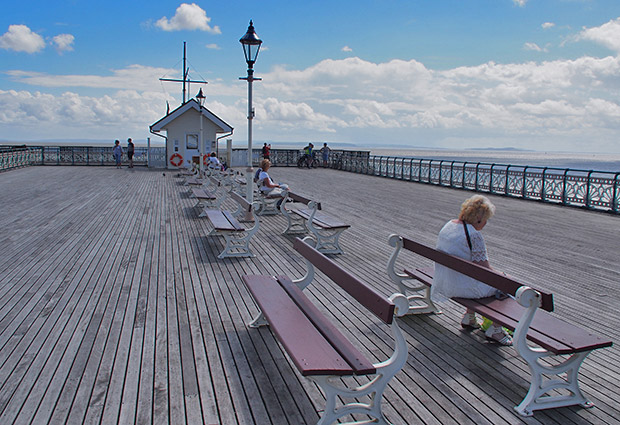 Photos of Penarth Pier and pavilion, Penarth, Vale of Glamorgan, South Wales, September 2013