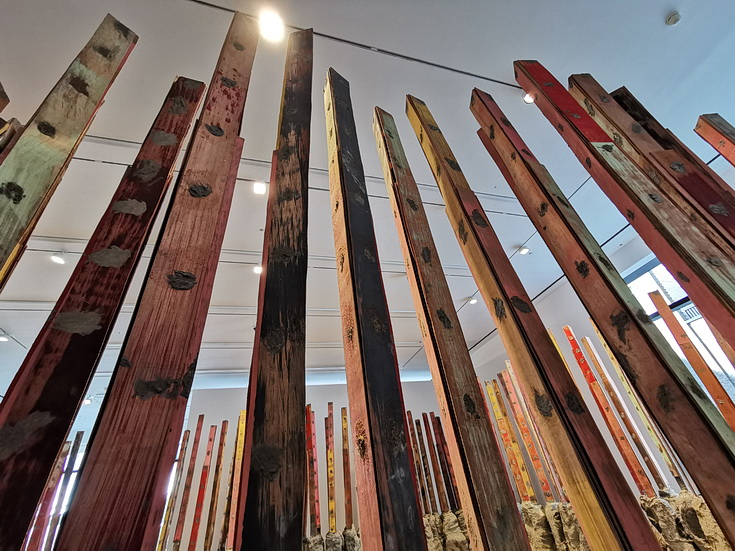 In photos: Phyllida Barlow at Hauser and Wirth, London