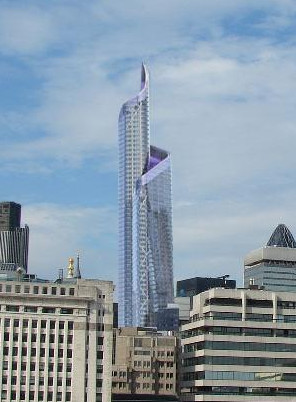 London's 288m Pinnacle Tower gets back on track