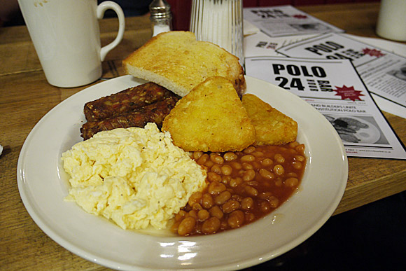Polo 24 hour cafe, Liverpool Street, London