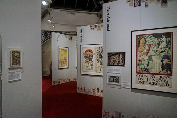 Poster Girls – a century of art and design at the London Transport Museum, October - November 2018