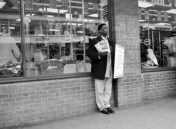 Pic of the day: Preacher asks the question, Brixton