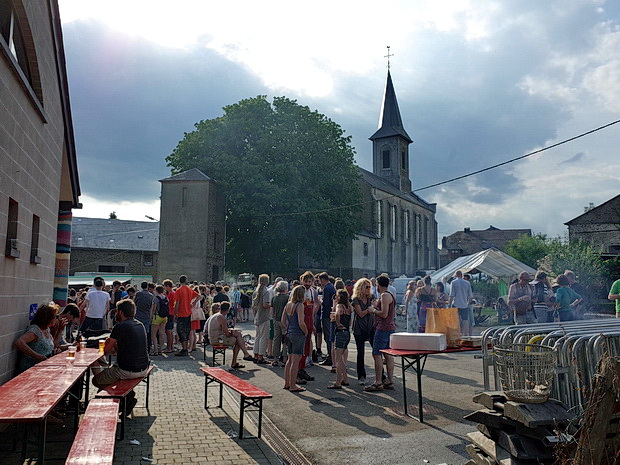 P'tit Faystival - where a tiny village in Belgium goes crazy for music, July 2018