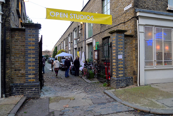 Pullens Open Studios, Iliffe Yard and Crampton Street, Elephant and Castle, London SE17, December 2011
