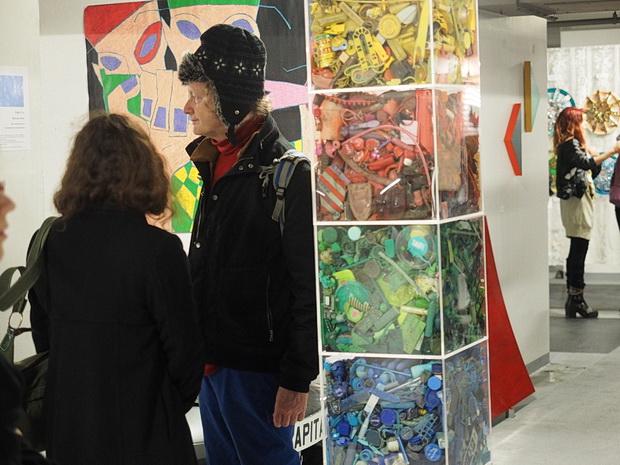 Q Park Art Exhibition, Chinatown, Soho, London, 3-9 February, 2014