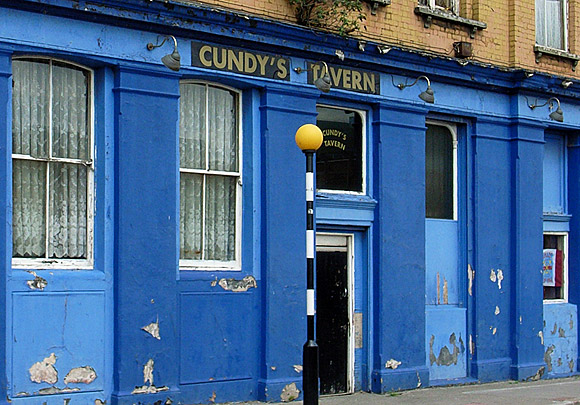 Cundy's Tavern, Silvertown - one of London's dodgiest boozers