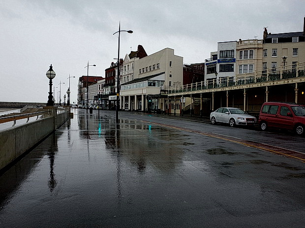 A rainy day in Margate. Photos from a wet and windy May afternoon, May 2015