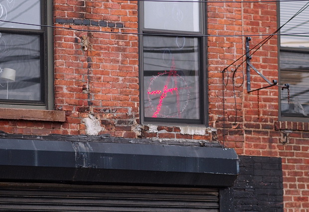 Photos of street scenes, docks and graffiti of Red Hook, Brooklyn, USA