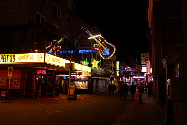 In photos: A stroll around the Reeperbahn, Hamburg, Germany