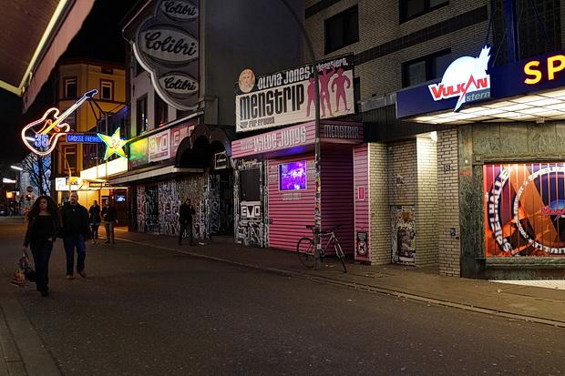 In photos: A stroll around the Reeperbahn, Hamburg, Germany
