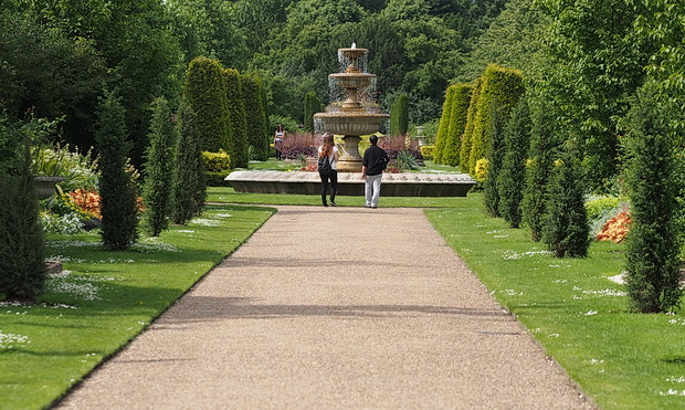 A sunny walk through Regent's Park in central London, June 2014