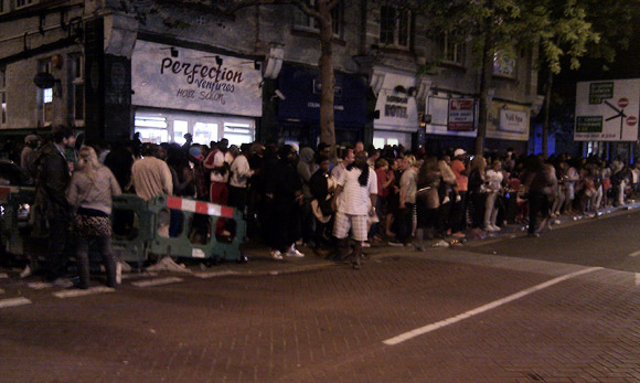 Street Party on Coldharbour Lane, Brixton
