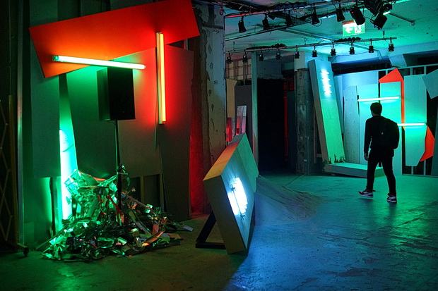 In photos: Ruin - an abandoned imaginary disco nightclub in the Store Studios, London, November 2017