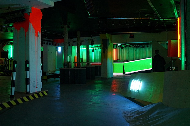 In Photos Ruin An Abandoned Imaginary Disco Nightclub