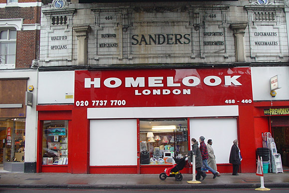Homelook/Sanders 460 Brixton Road - yours for 9k/month