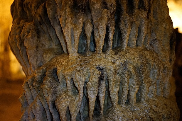 The magnificent Neptune's Grotto cave system in Alghero on the island of Sardinia, Italy