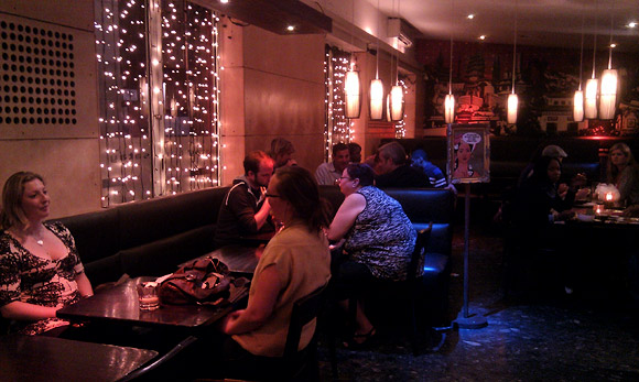Wednesday night in Brixton - Satay Bar and the Music Bar
