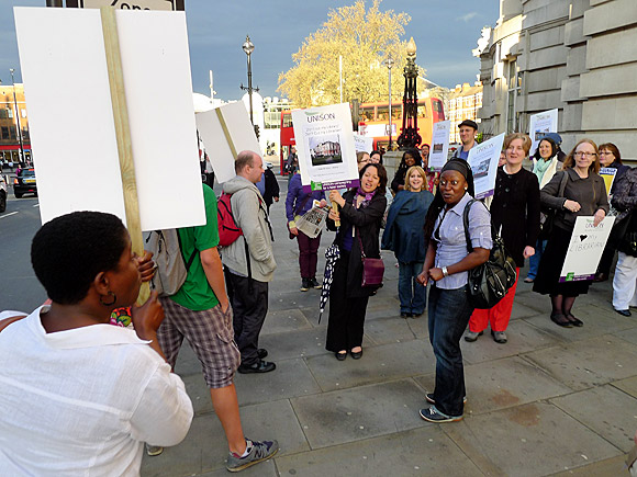 Save Lambeth Libraries Lobby - Monday 11 April, 6:30pm, Lambeth Town Hall, Brixton