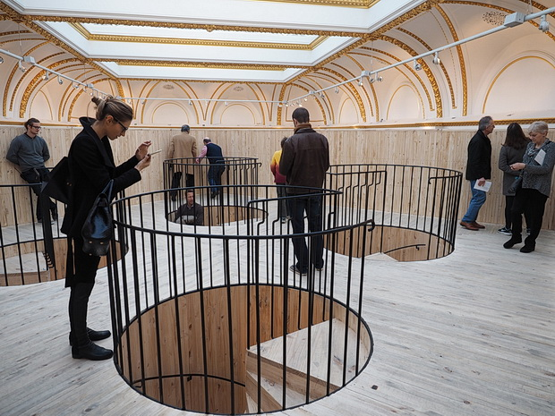 Sensing Spaces, Architecture Reimagined at the Royal Academy, London, February 2014