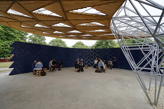 In photos: Serpentine Pavilion 2017, designed by Francis Kéré, Kensington Gardens, London, July 2017